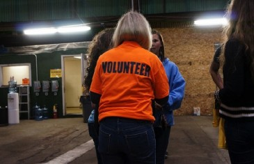 Volunteering benefits newcomers' well-being