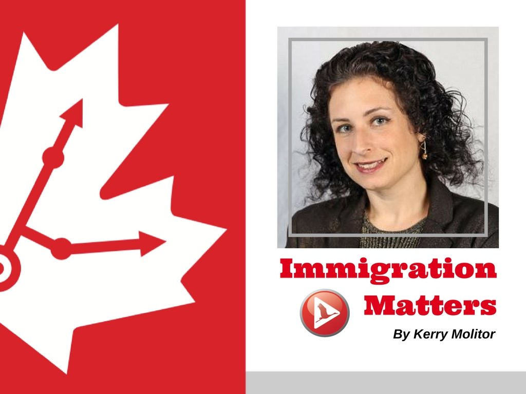 Kerry Molitor gives immigration advice to Canada
