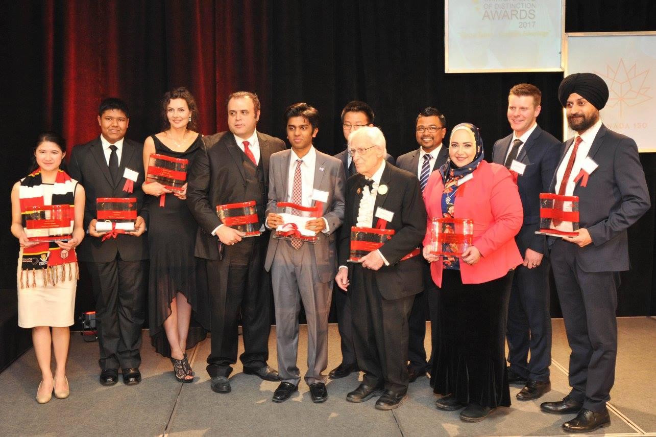 Achievements of immigrants recognized in Calgary