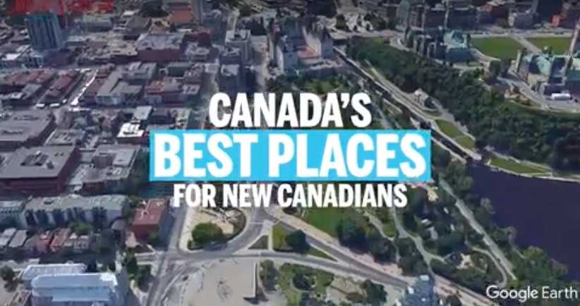 Top Canadian cities for new immigrants in 2017