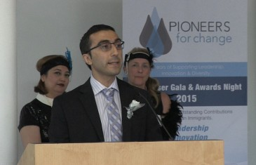 Gerard Keledjian honoured with a Pioneers for Change Award 2015