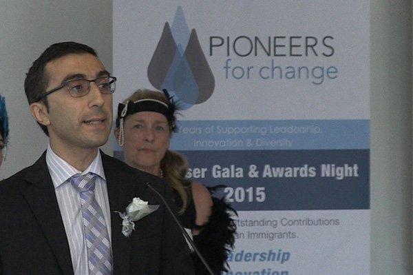 Gerard Keledjian honoured with a Pioneers for Change Award 2015