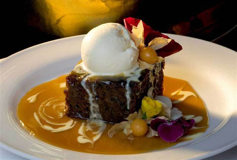 Prince Edward Island sticky date pudding