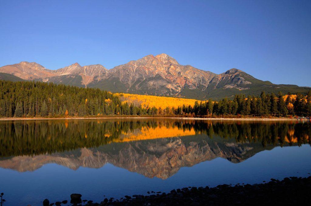 Patricia Lake and Pyramid Mountain, Jasper National Park, Canada