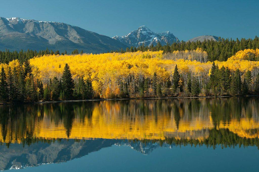 Pyramid Lake, Jasper National Park, Canada