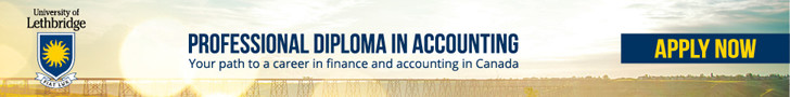 Whatever your academic background, the professional diploma in accounting at the University of Lethbridge provides the competencies and experiences you need to engage and guide the organizations with which you work.