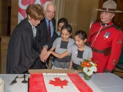 70th anniversary of first citizenship ceremony