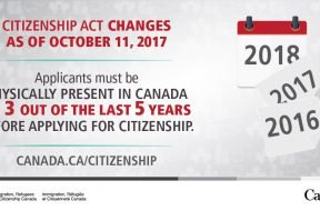 Citizenship Changes as of October 11