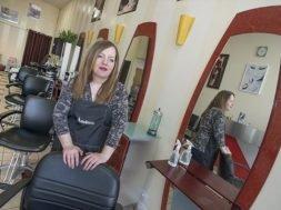 Hamilton hair stylist