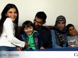 A family reborn through language