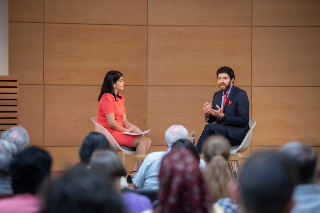 New Canadians reporter Vasudha Sharma interviews Tareq Hadhad