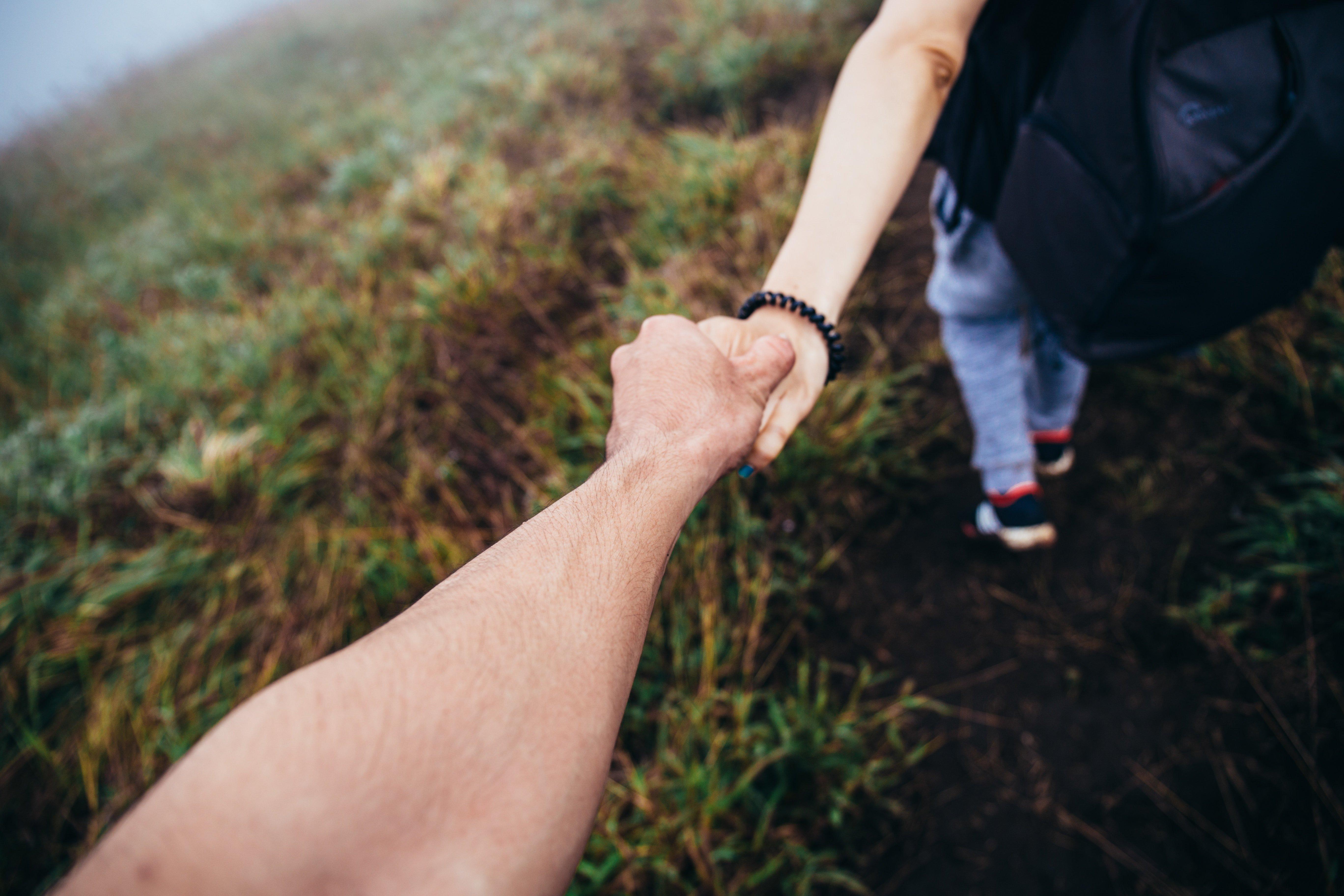 Hand-holding society