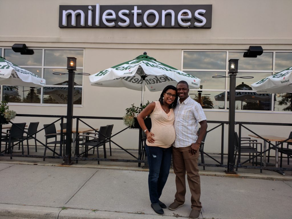Marilene and Otis at Milestones