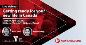 getting ready for your new life in Canada